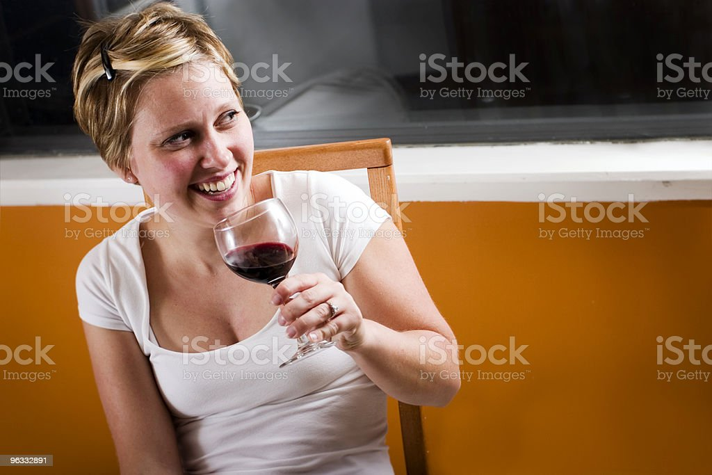 Autumn Winetasting royalty-free stock photo