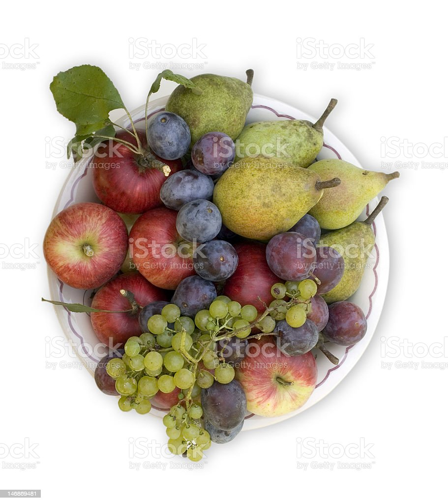 Autumnal fruits royalty-free stock photo