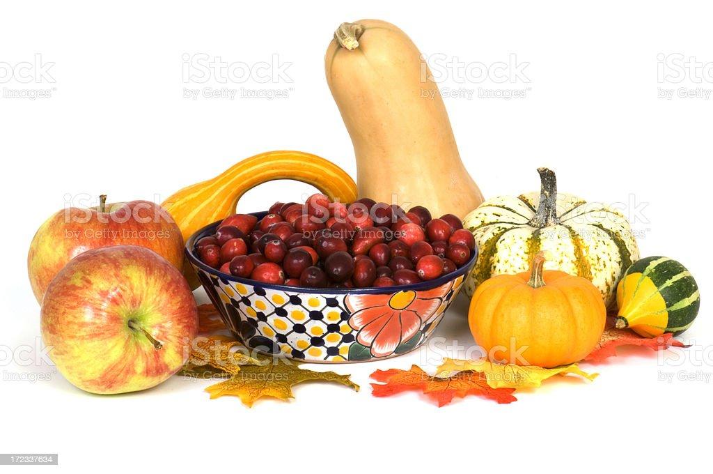Autumnal Harvest Arrangement royalty-free stock photo