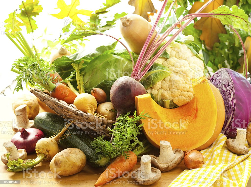Autumnal vegetables royalty-free stock photo