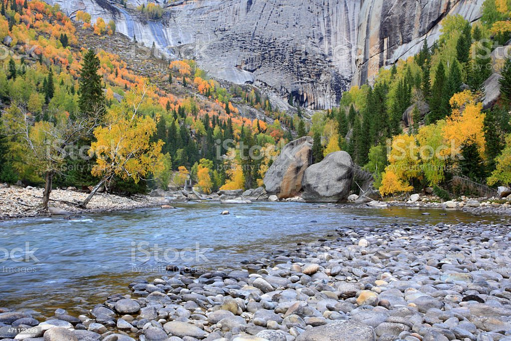 Autumn's color royalty-free stock photo