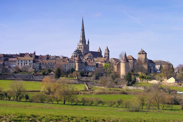 Autun in France, the cathedral – Foto