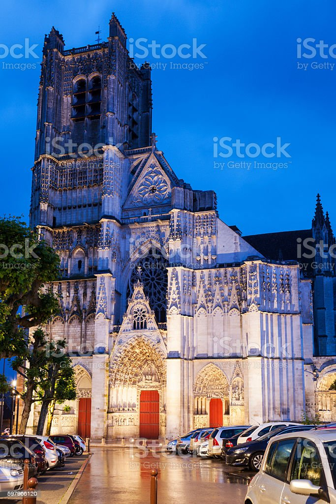 Auxerre Cathedral - Photo