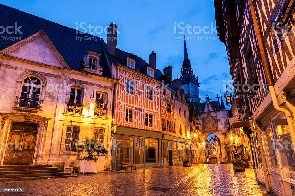 Auxerre City Hall and Clock Tower - Photo