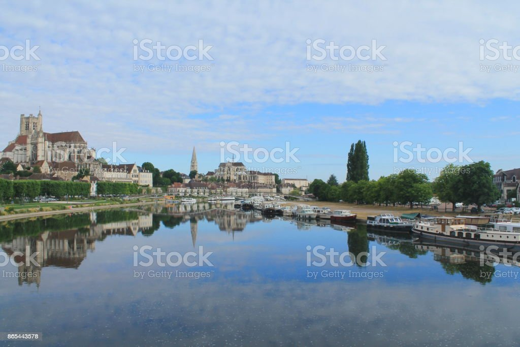 Auxerre, ville d'art et d'histoire, France - Photo