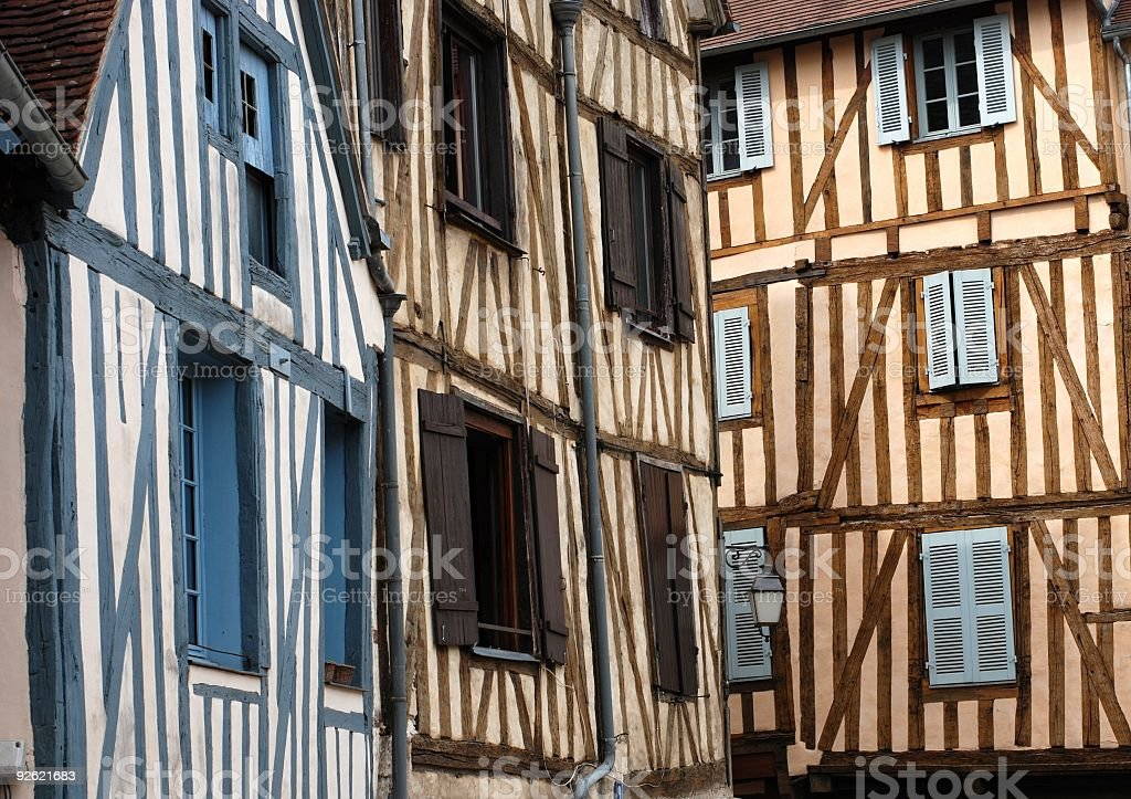 Auxerre royalty-free stock photo