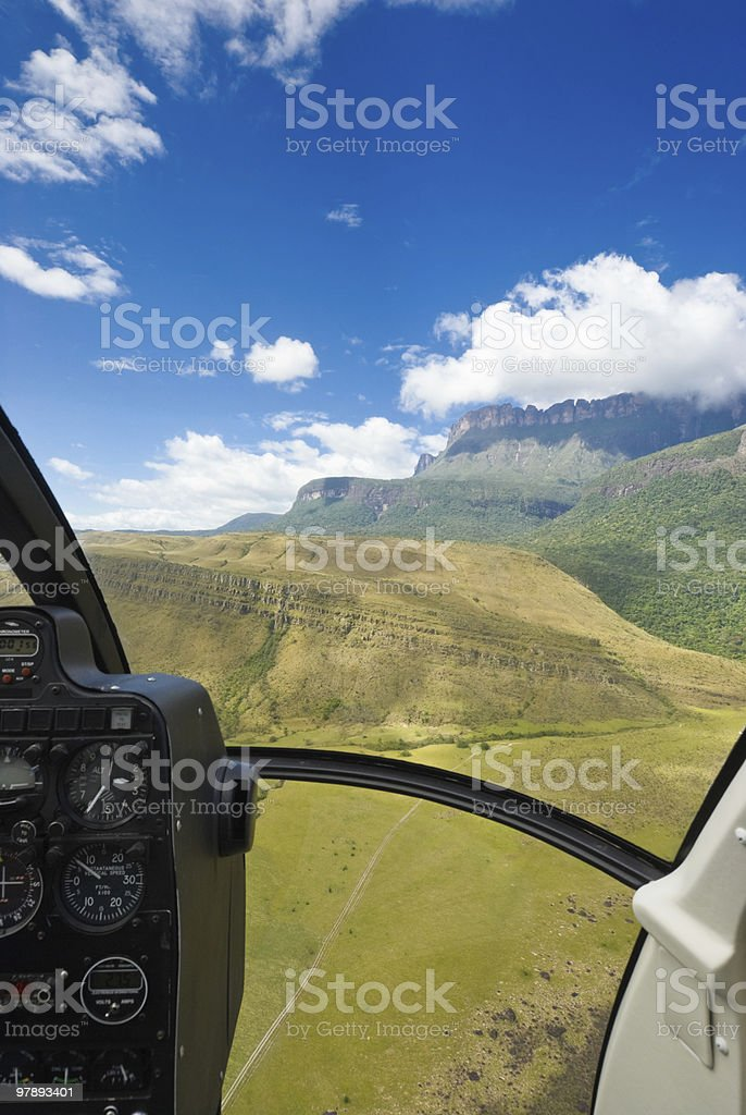 Auyan Tepuy table top mountain royalty-free stock photo