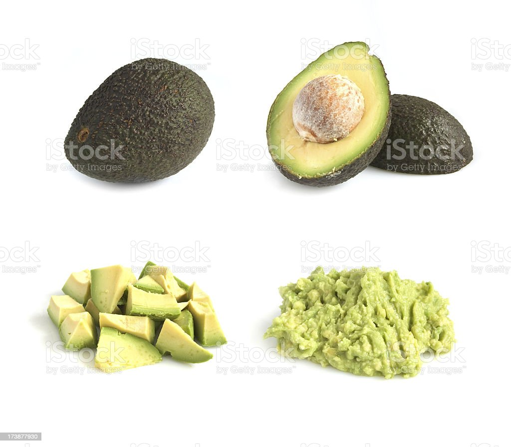 Avacado series stock photo