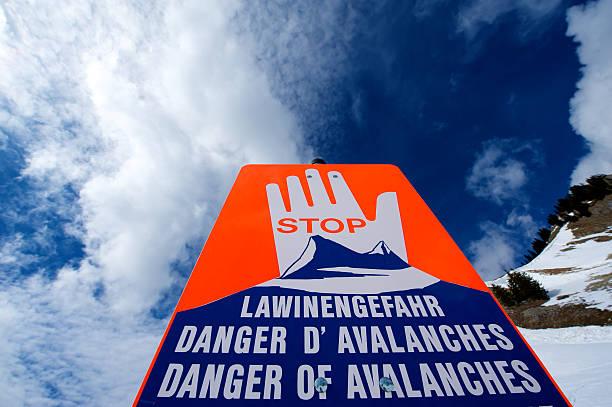 Avalanche Warnung – Foto