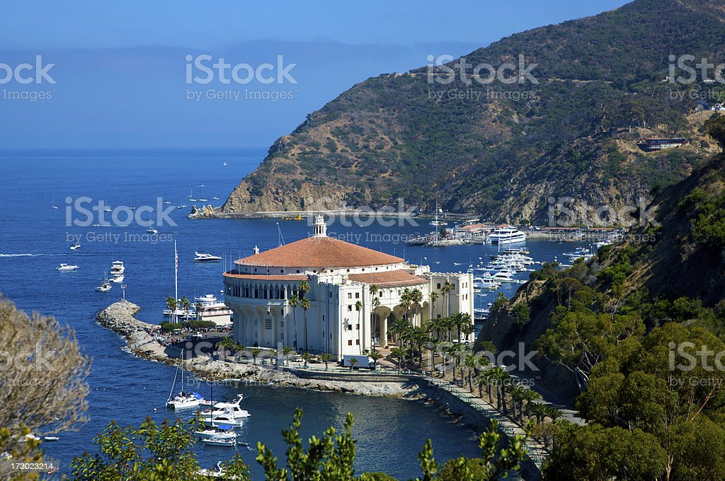 Avalon bay royalty-free stock photo
