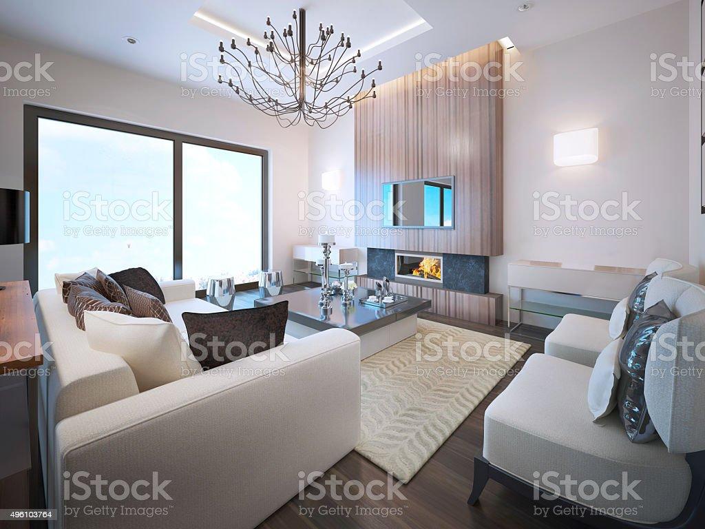 Avantgarde Wohnzimmer Trend Stockfoto und mehr Bilder von ...