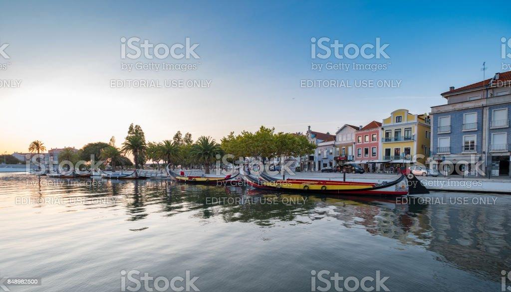 Canal de Aveiro, Portugal - foto de stock