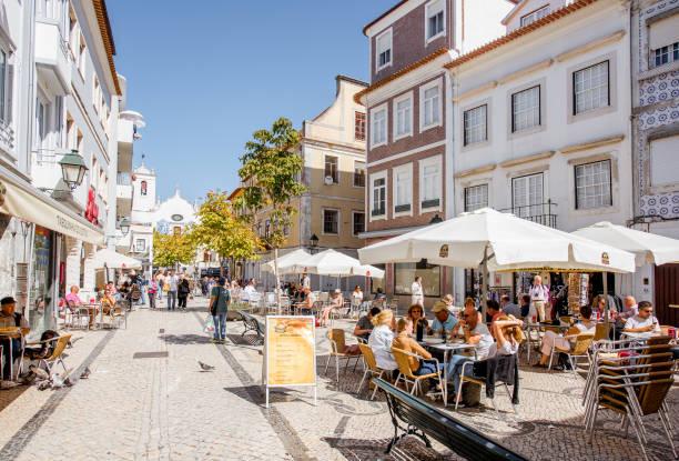 aveiro old town in portugal - aveiro imagens e fotografias de stock