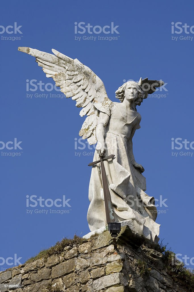 Avenger angel stock photo