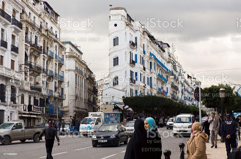 Avenue El Khettabi à Alger - Photo