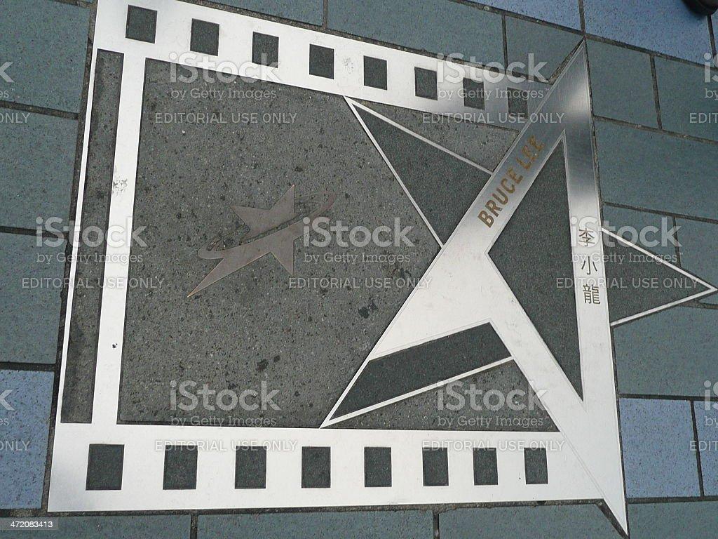 Avenue of Stars, Hong Kong royalty-free stock photo