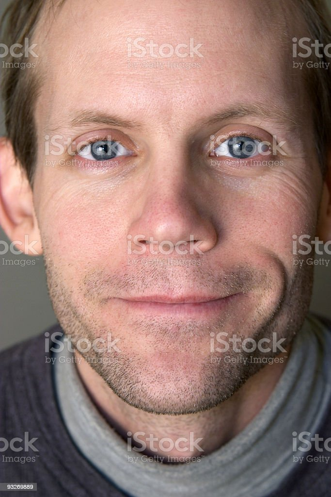 Average Joe - Closeup royalty-free stock photo