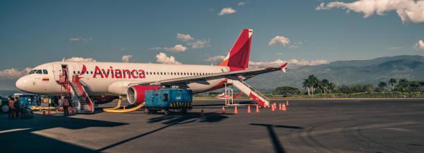 Avião da Avianca - foto de acervo