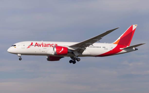 Avianca Boeing 787-8 Dreamliner - foto de acervo