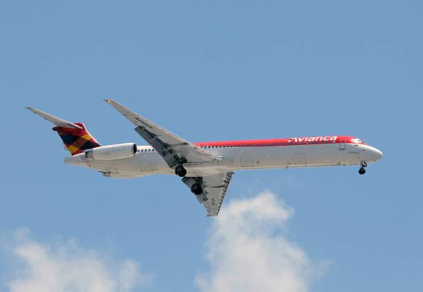 Avianca Colômbia passageiro jet - foto de acervo