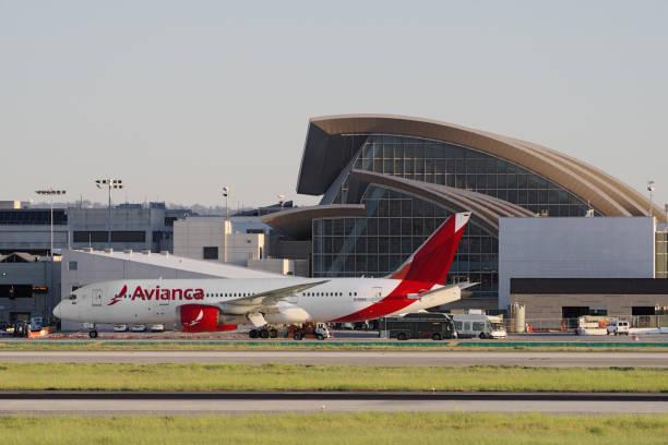 Avianca Dreamliner Boeing 787 - foto de acervo