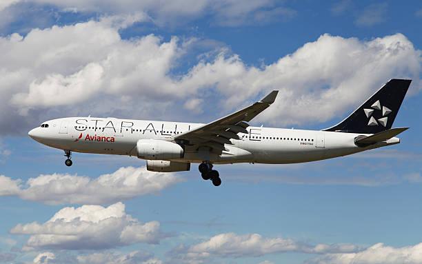 Avianca Estrela Aliança Airbus A330 - foto de acervo
