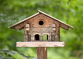 Aviary, Bird House, Forest, Austria