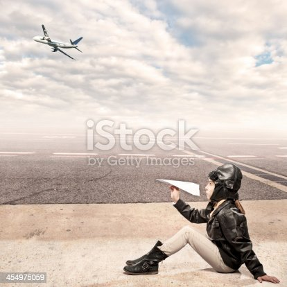 istock aviator at the airport 454975059