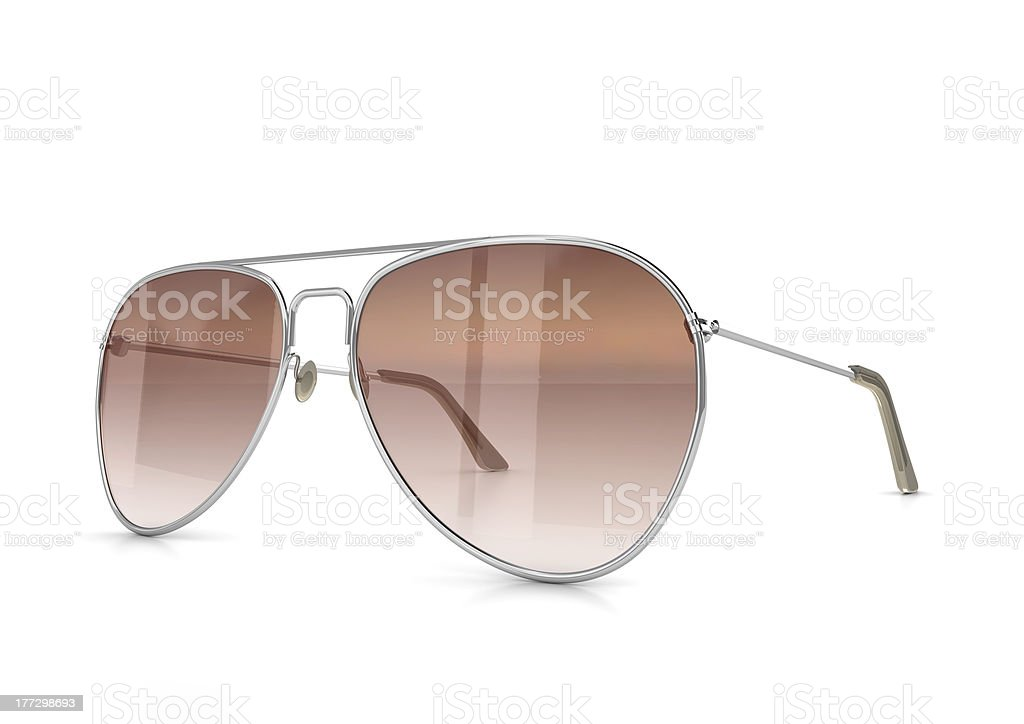 Aviator Glasses stock photo