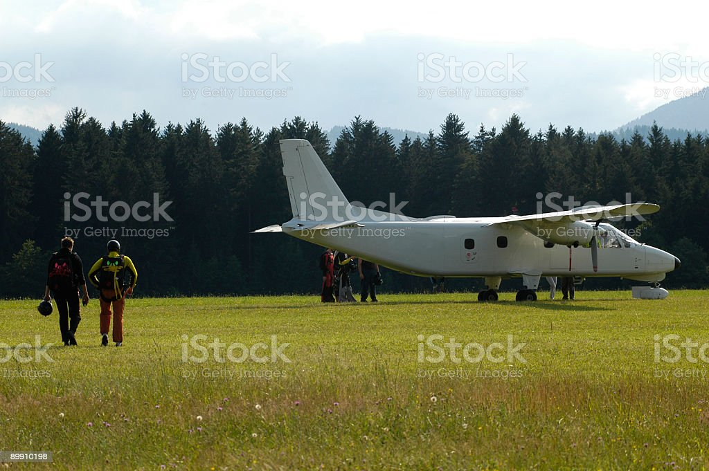 Aviator royalty-free stock photo