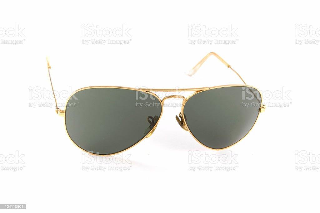Aviator sunglasses royalty-free stock photo