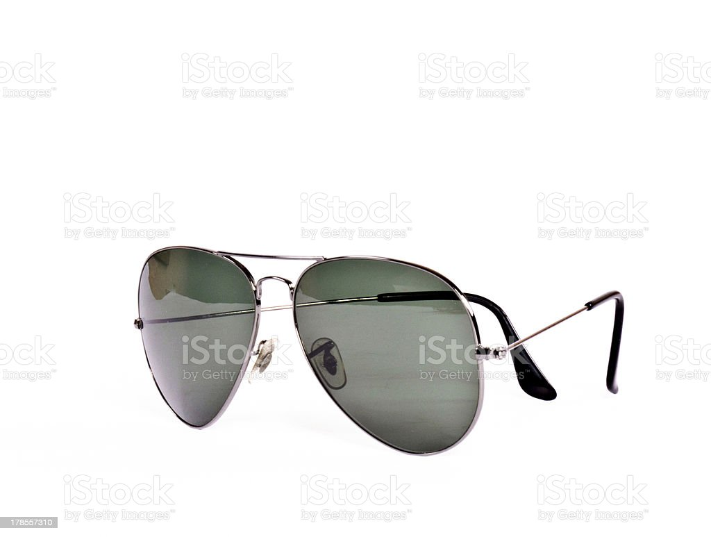 Aviator sunglasses stock photo