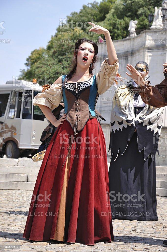 Avignon festival royalty-free stock photo
