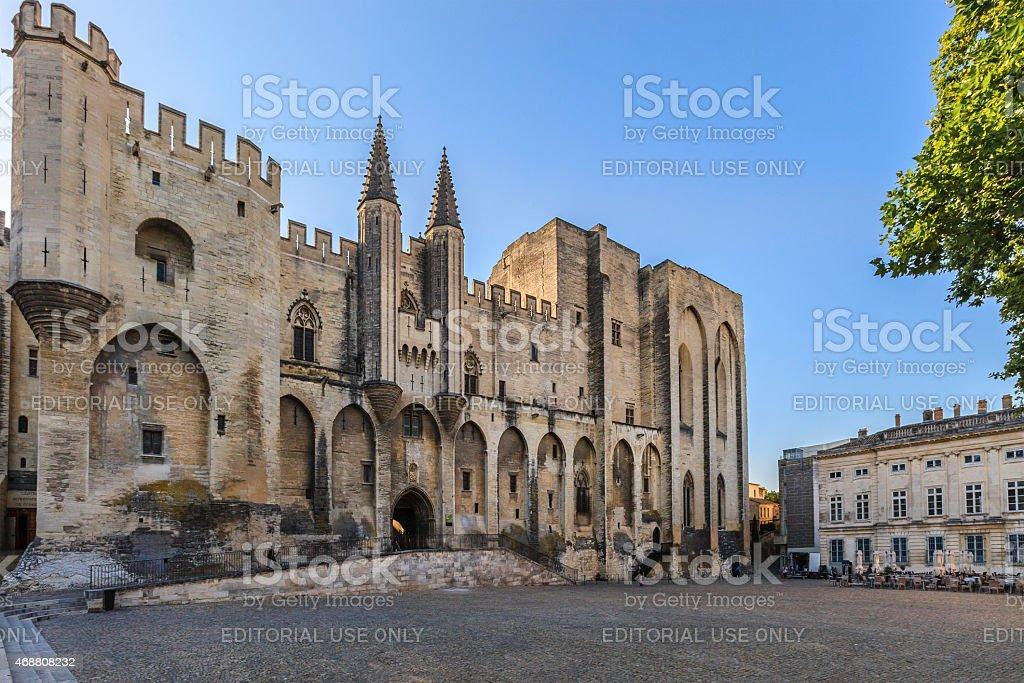 Avignon, Palais des Papes - France stock photo