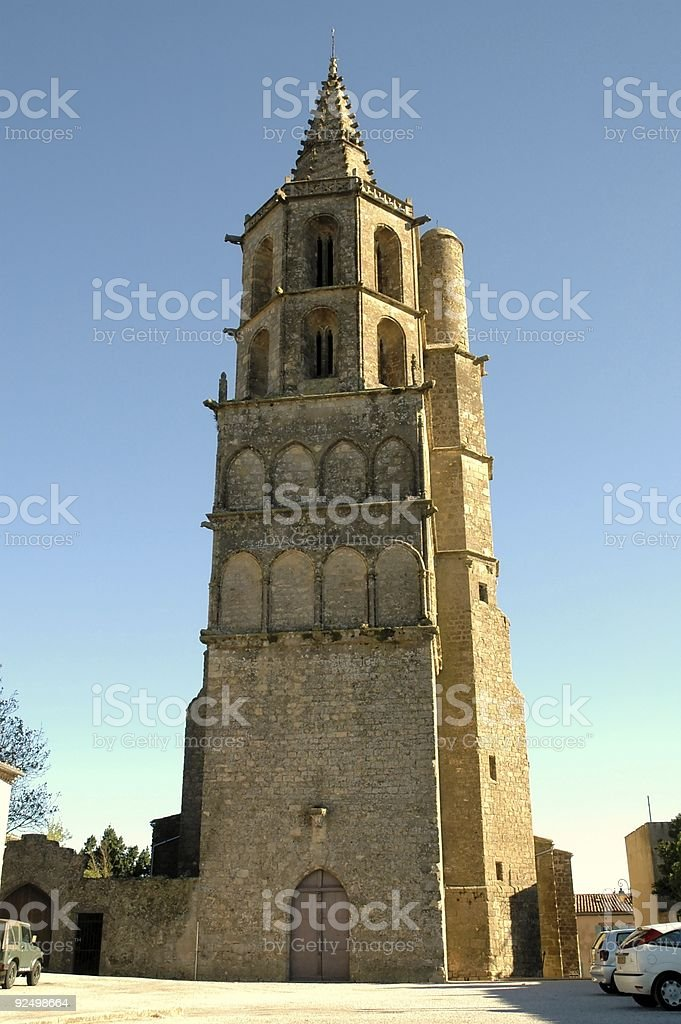 Avignonet (Church) royalty-free stock photo