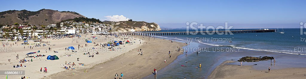 Avila Beach stock photo