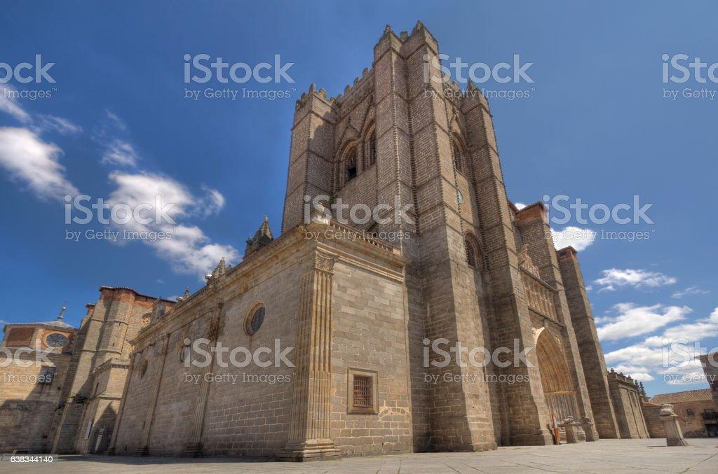 Avila Cathedral in Spain - foto de stock