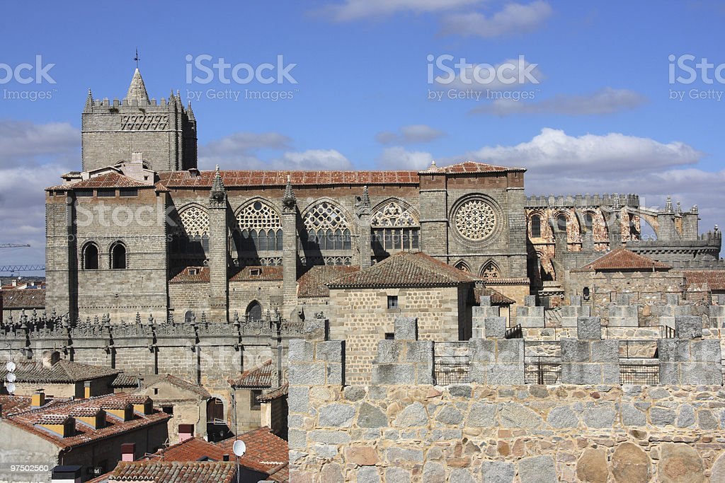 Avila royalty-free stock photo