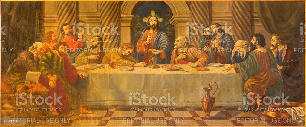 Avila – Das letzte Abendmahl Gemälde von 18 Prozent. – Foto