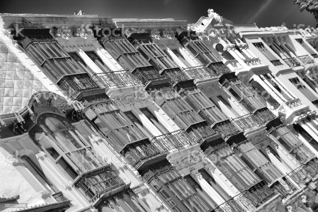 Calles de Avilés - foto de stock