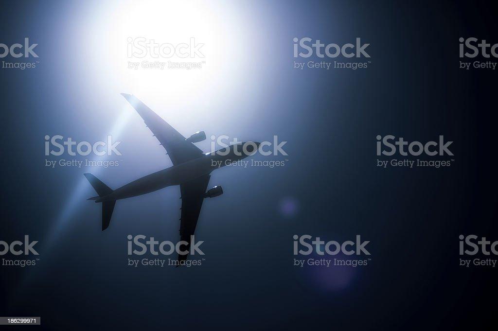 Avión stock photo