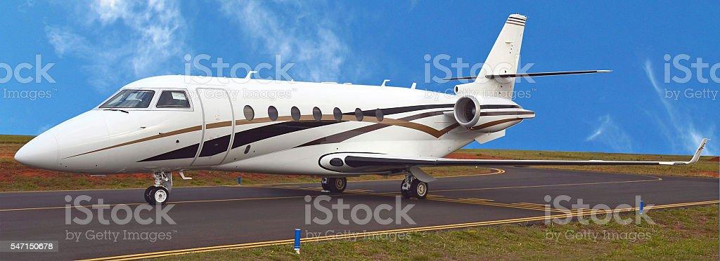 Avião stock photo