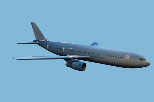 Avion commercial stock photo