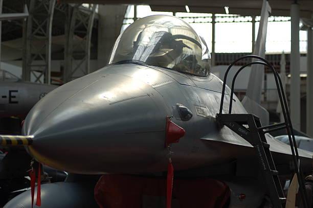 Avion de chasse stock photo