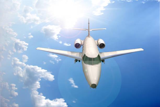 Avion de tourisme - Jet stock photo