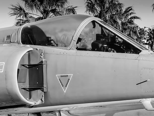 Avion Etendart de l'armée française stock photo