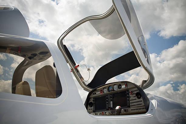avion privé stock photo
