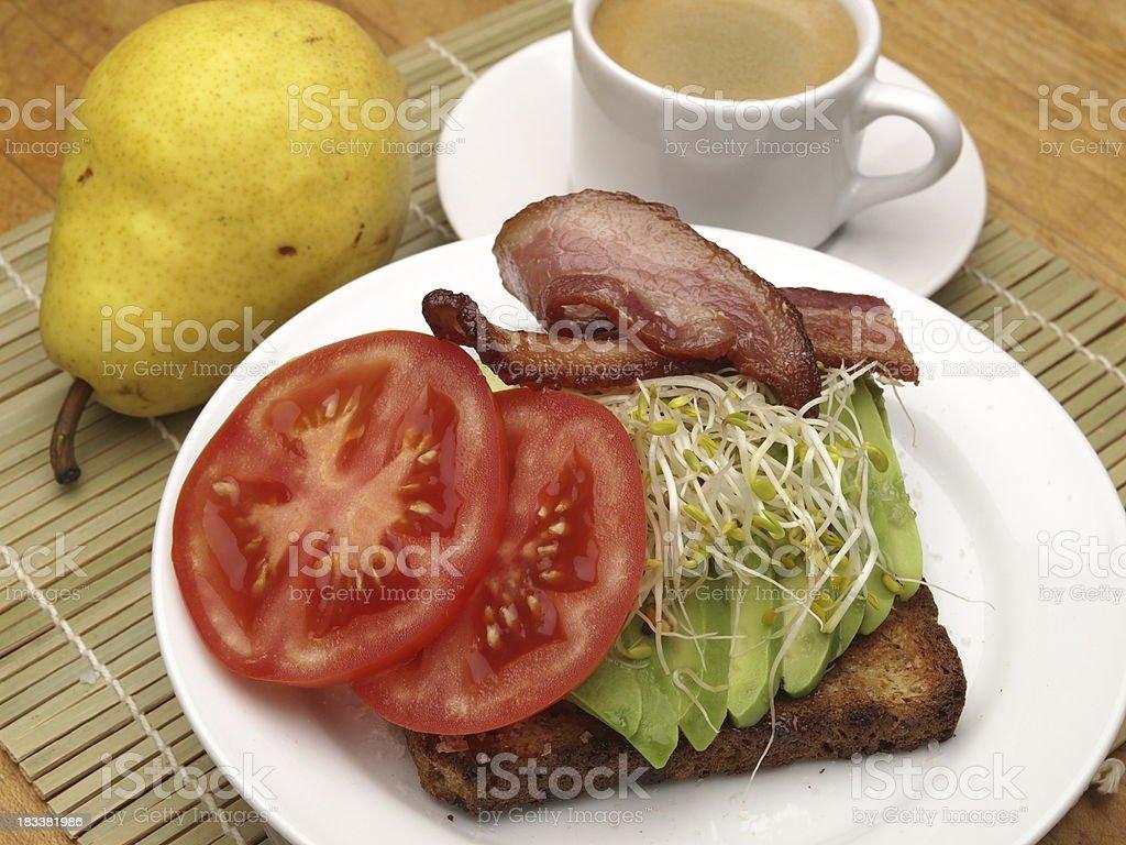 Avocado-Frühstück – Foto