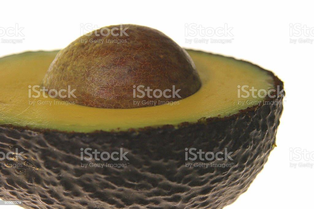 Avocado - Close cut royalty-free stock photo