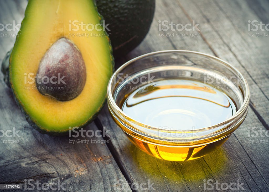 Avocado Oil stock photo